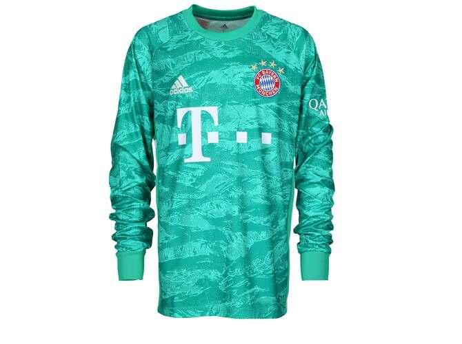 adidas FC Bayern München Heim Torwarttrikot Kinder | die