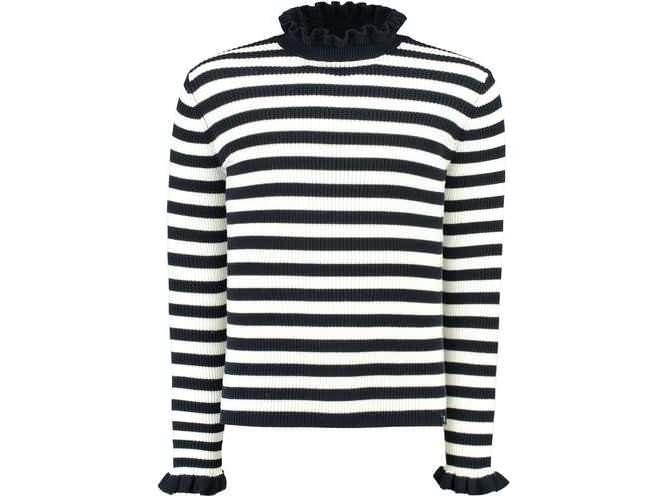 wholesale dealer 1e421 16b4a GARCIA Schwarz-weißer Pullover mit Streifen | die dodenhof ...
