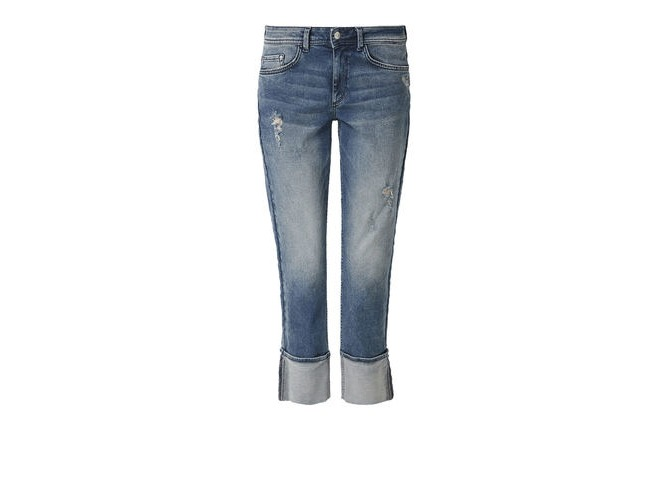 s.Oliver RED LABEL – Regular Fit Jeans mit elastischem Bund – Jeans