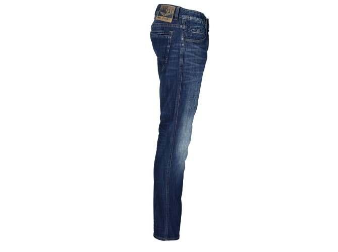 PME LEGEND Nightflight Stretch Slub Denim Jeans   die