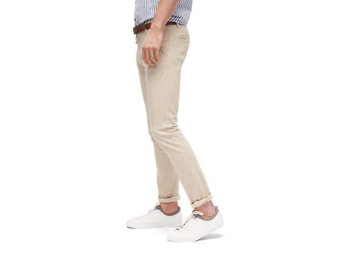 Tom Tailor Denim Skinny Herren Chino mit Gürtel | die