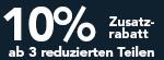 10% Zusatzrabatt
