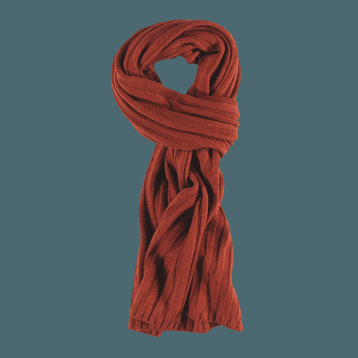 engbers Schal in Rostbraun kaufen | engbers.com