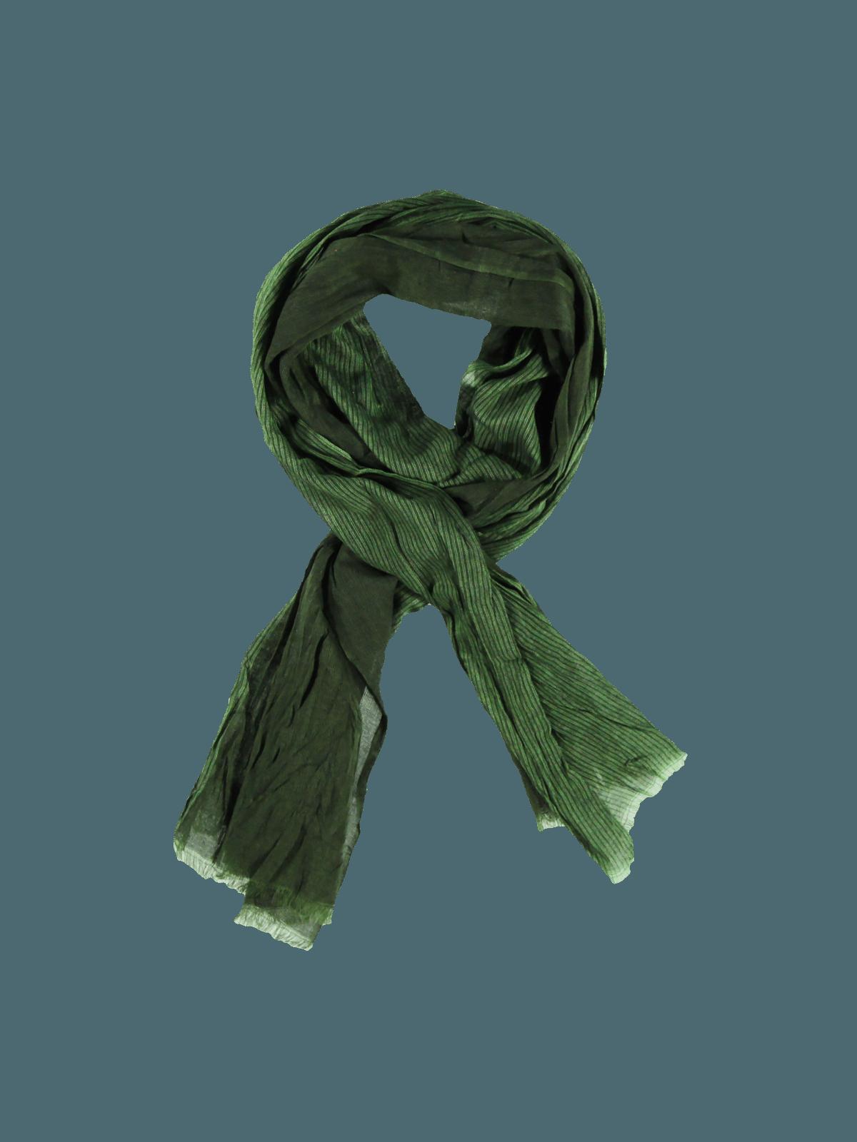 engbers Schal gemustert in Moosgrün kaufen | engbers.com