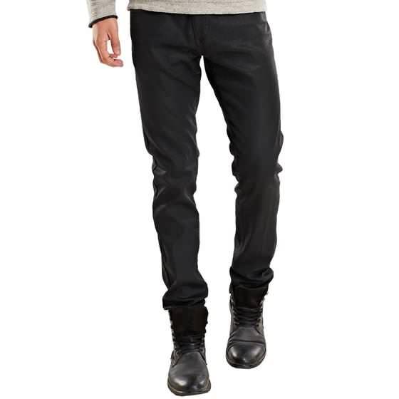 herren beschichtete jeans in schwarz kaufen | emilioadani, Hause ideen