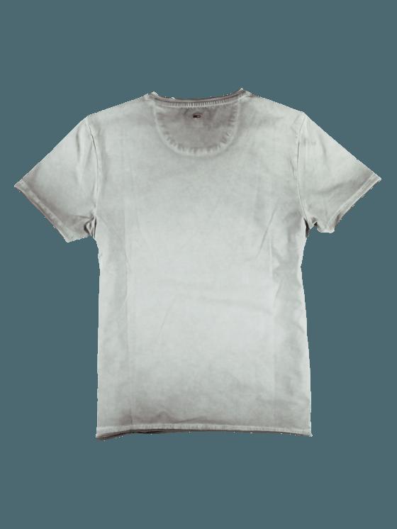 3580da3549fa73 emilio adani Herren V-Neck T-Shirt in Elfenbein