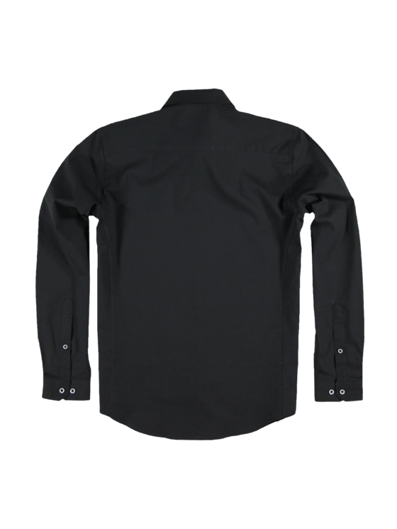 07481fb8bf43 engbers Hemd uni in Schwarz kaufen   engbers.com
