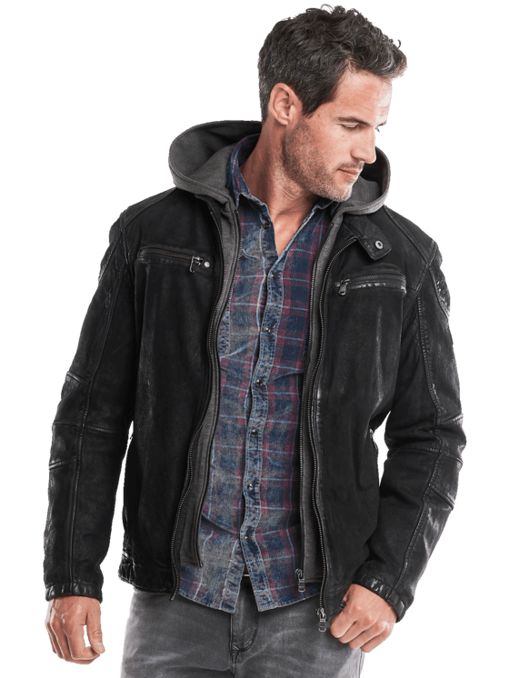 innovative design b18c8 9cb6a Lederjacke