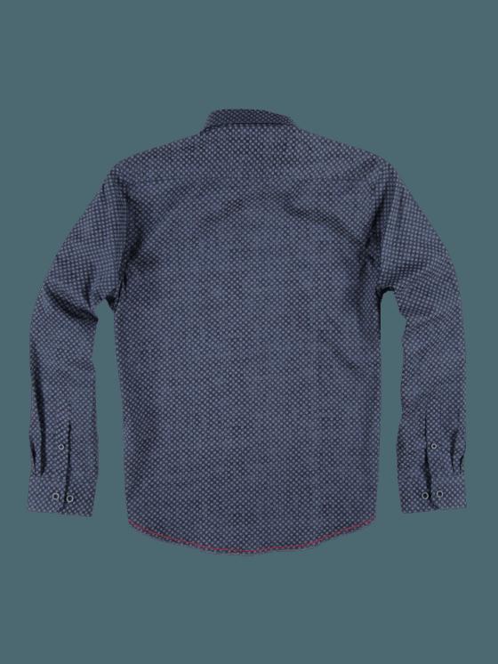 engbers Herren Hemd Langarm, 26269, Blau in Größe 5XL