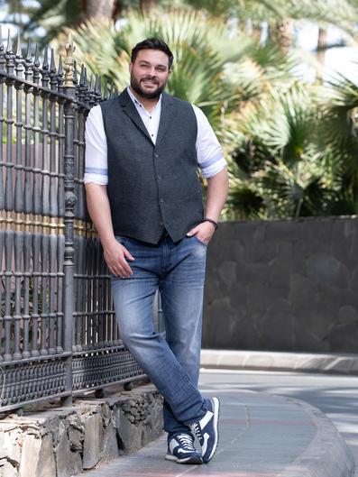 Mode mollige business männer für C&A Mode