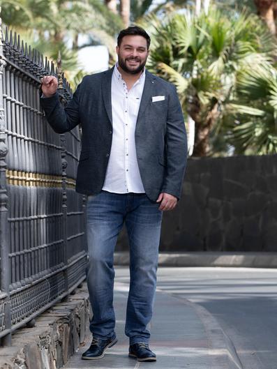 Mode mollige business männer für Plus Size