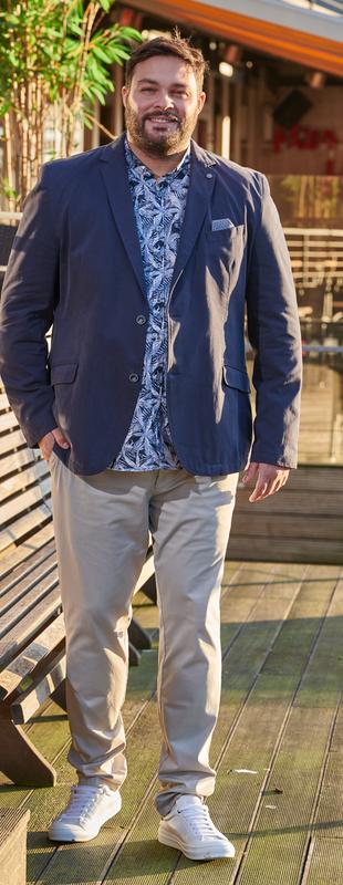 Mode mollige business männer für Mode für