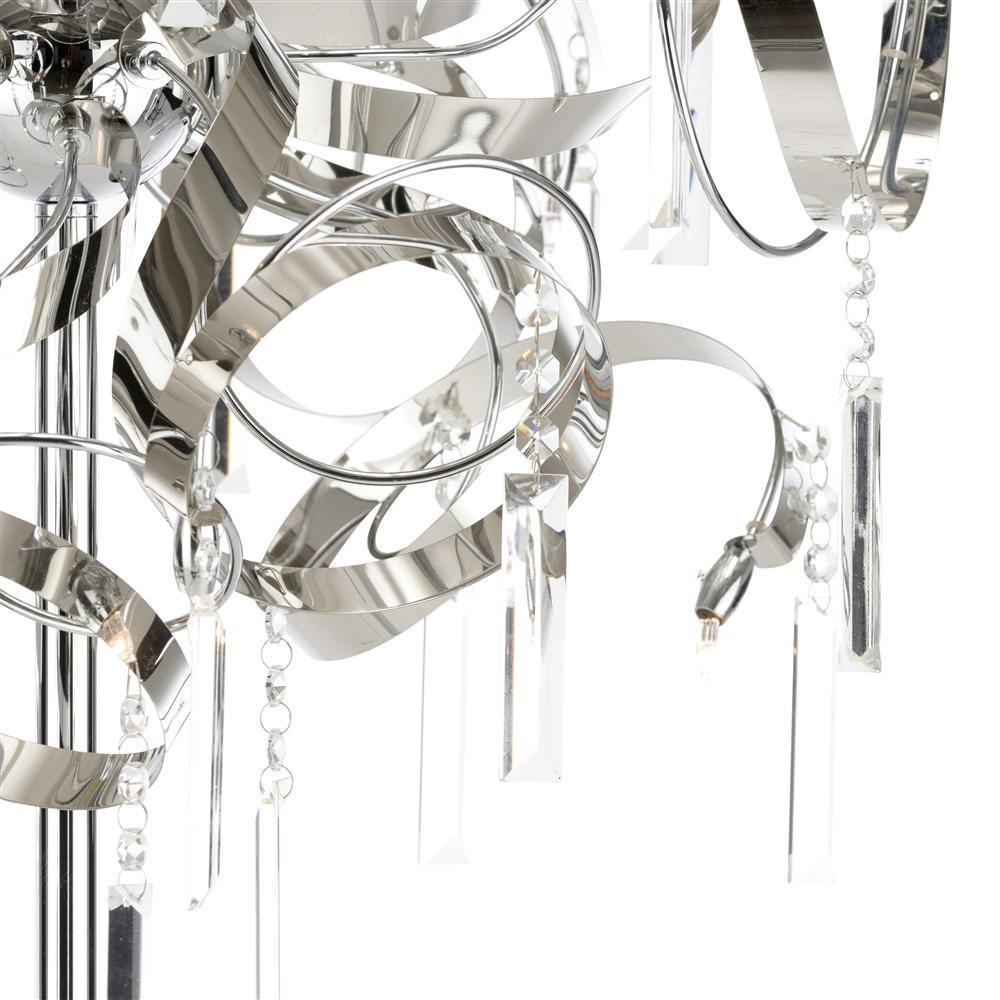 vloerlamp konya in zilver nu bestellen in de coco maison. Black Bedroom Furniture Sets. Home Design Ideas