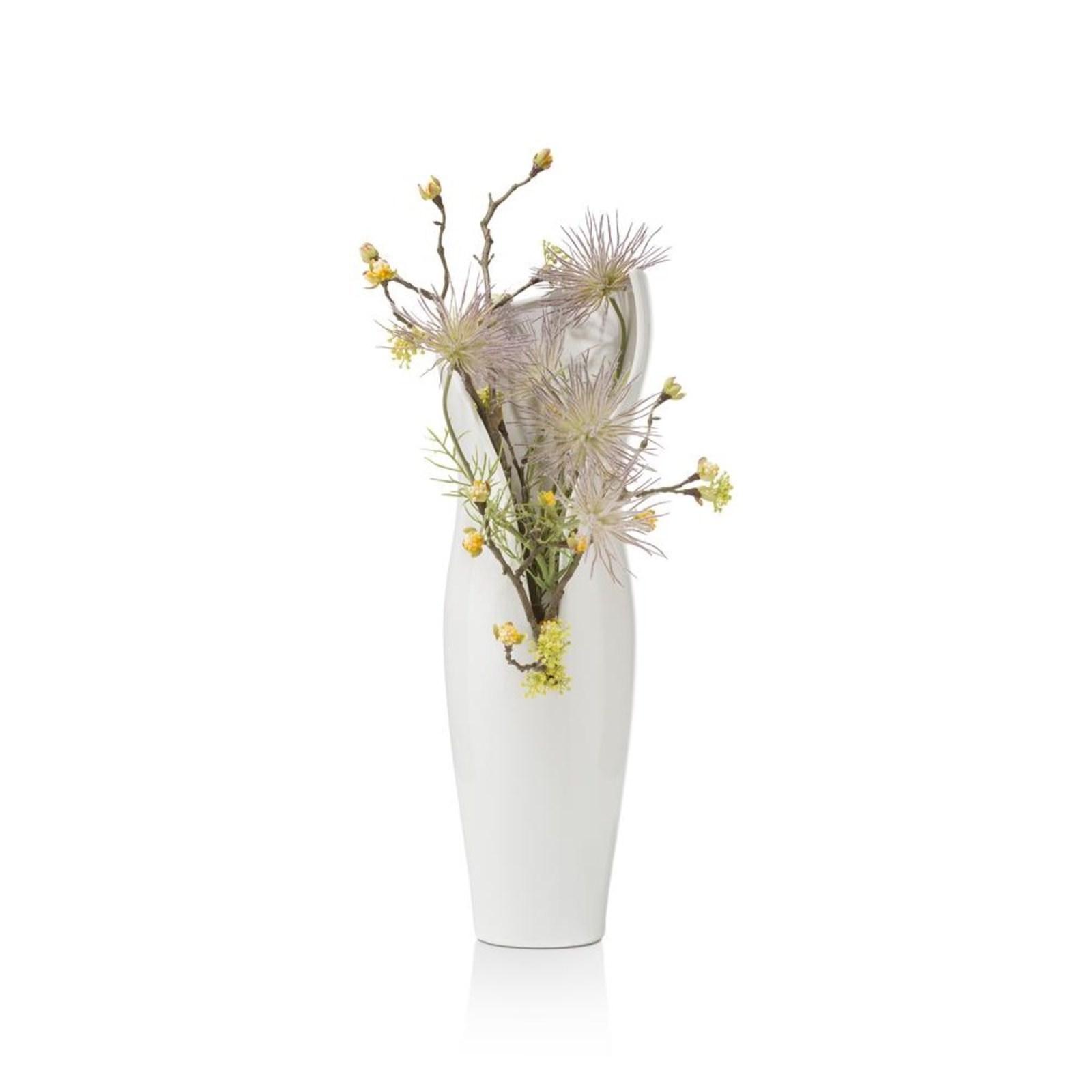 vaas olivia large in wit nu bestellen in de coco maison. Black Bedroom Furniture Sets. Home Design Ideas