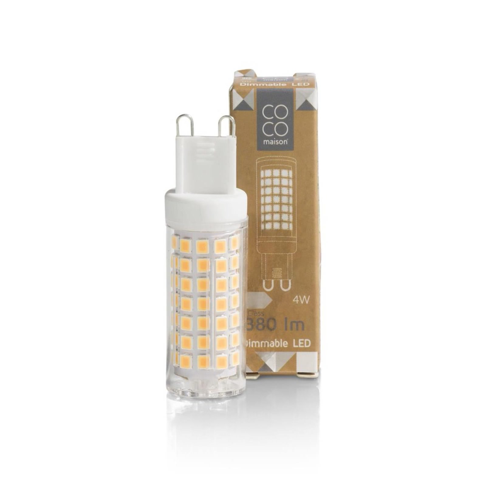 LED BULB G9/4W DIMMABLE