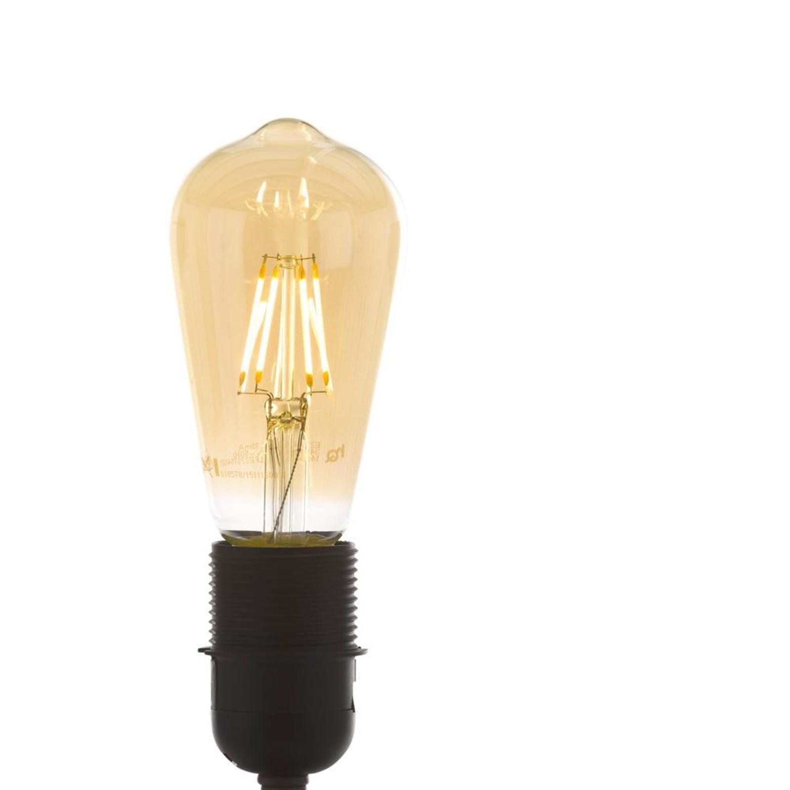FILAMENT BULB E27 WARM GOLD