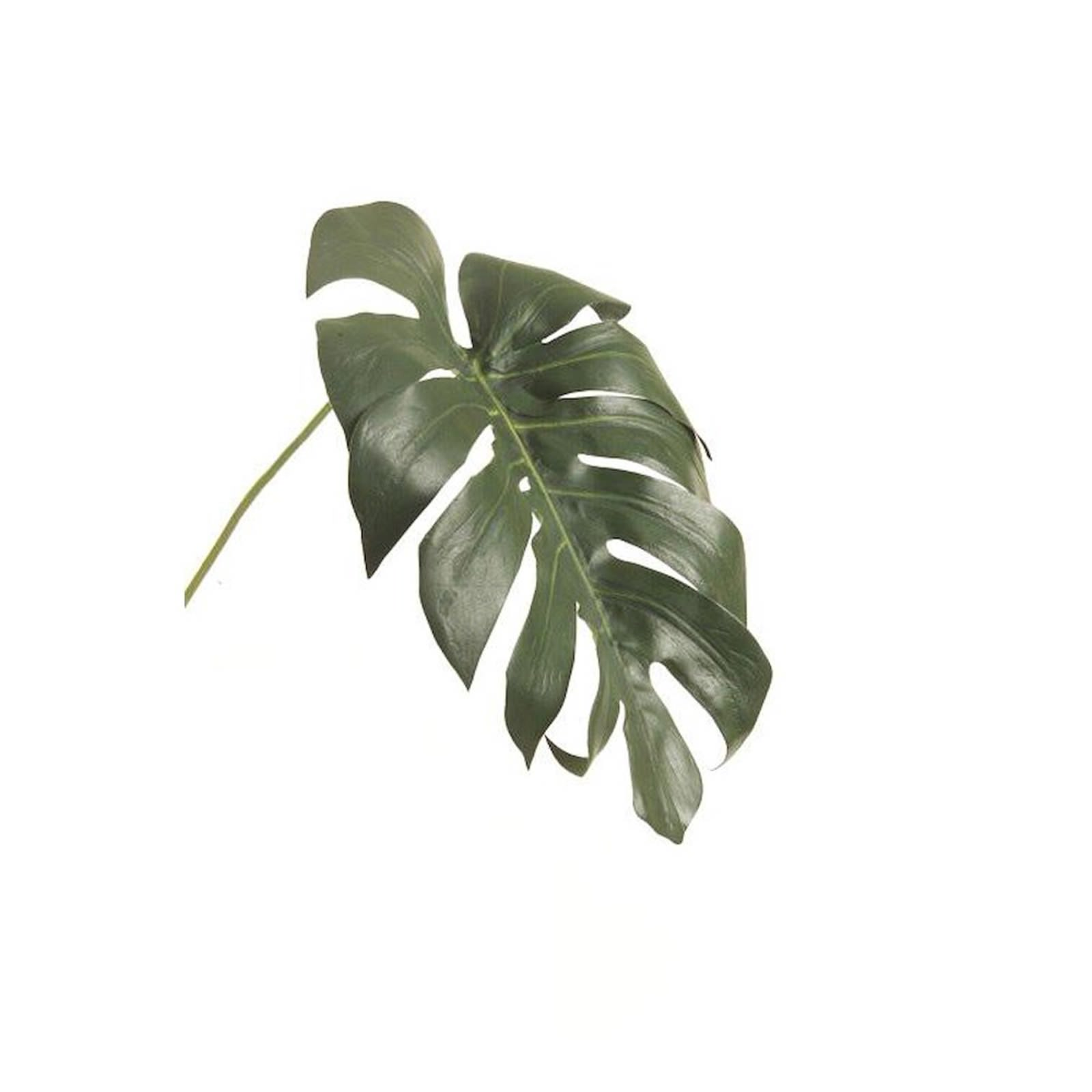 MONSTERA LEAF KUNSTBLUME H55CM