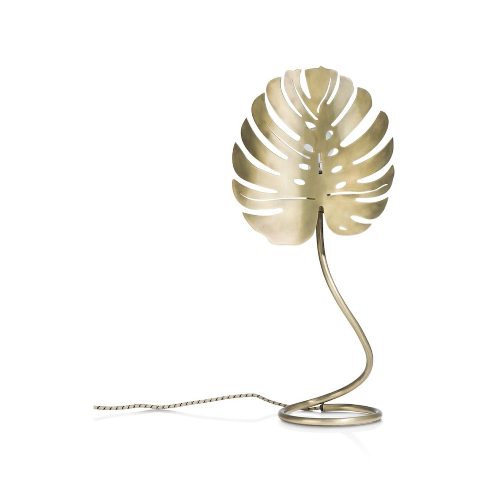 MONSTERA LEAF LAMPE DE TABLE 1*E27