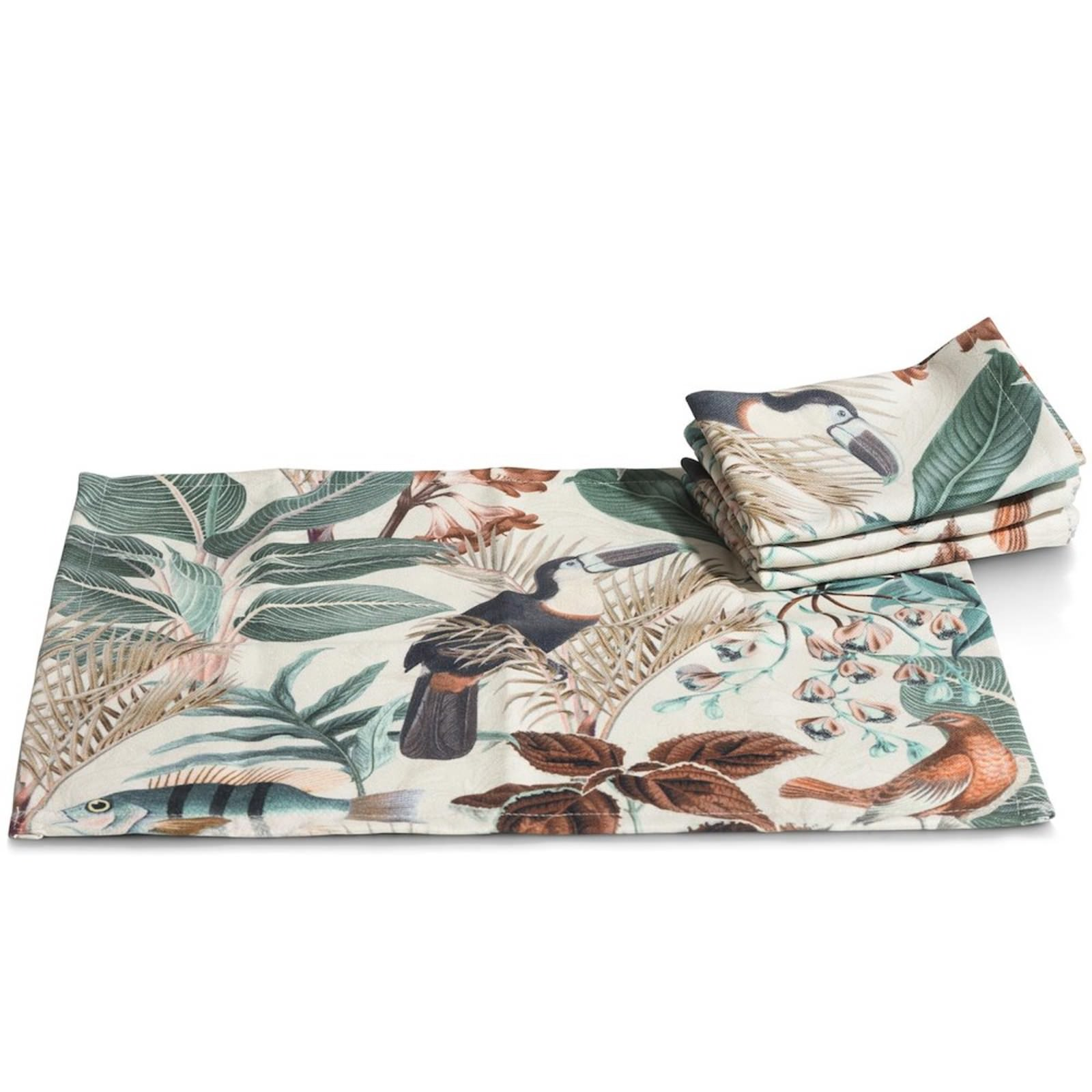 SUMMER JUNGLE TISCHSET-SET
