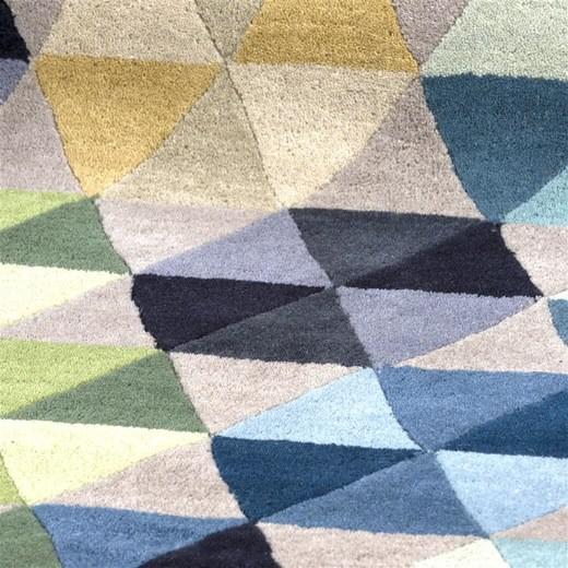 vloerkleed multi triangle in multikleur nu bestellen in de. Black Bedroom Furniture Sets. Home Design Ideas