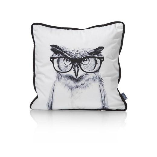 kussen owl in zwart nu bestellen in de coco maison webshop. Black Bedroom Furniture Sets. Home Design Ideas