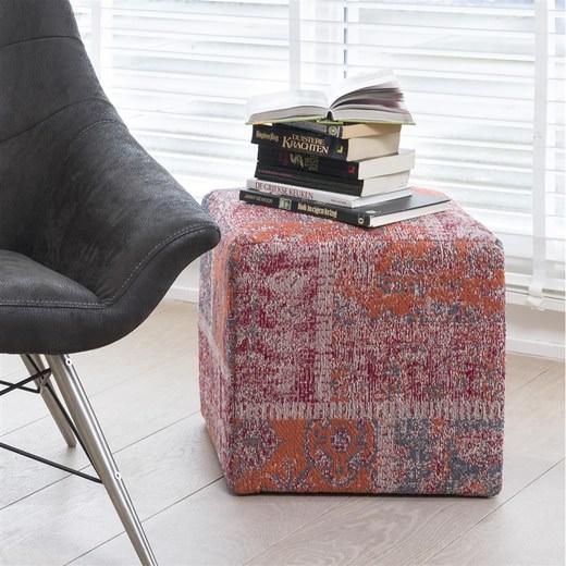 poef royal in rood nu bestellen in de coco maison webshop. Black Bedroom Furniture Sets. Home Design Ideas