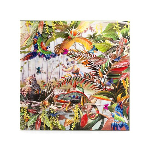 schilderij jungle fever in multikleur nu bestellen in de. Black Bedroom Furniture Sets. Home Design Ideas