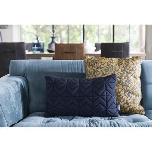kussen new jersey in blauw nu bestellen in de coco maison. Black Bedroom Furniture Sets. Home Design Ideas