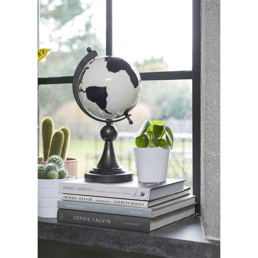 Object globe in zwart wit nu bestellen in de coco maison webshop - Eigentijds object ...