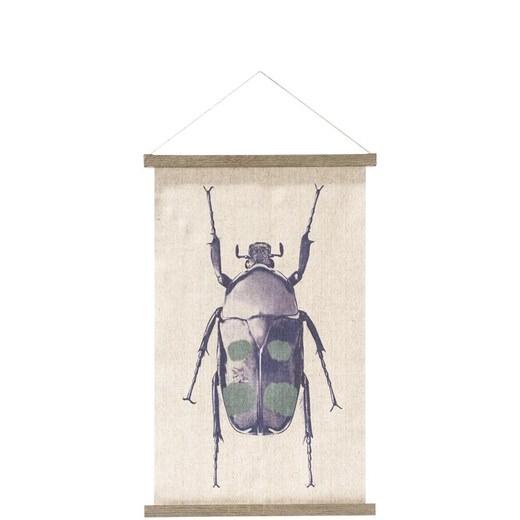 Wanddecoratie Op Doek.Wanddecoratie Wanddecoratie Blue Bug In Blauw Nu Bestellen In De