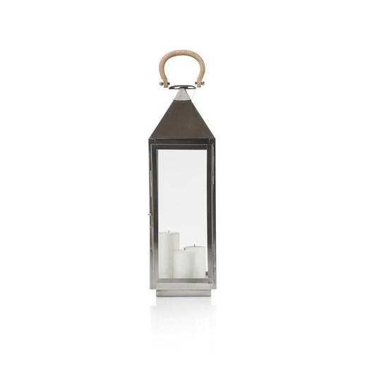 windlicht lighthouse in zilver nu bestellen in de coco. Black Bedroom Furniture Sets. Home Design Ideas