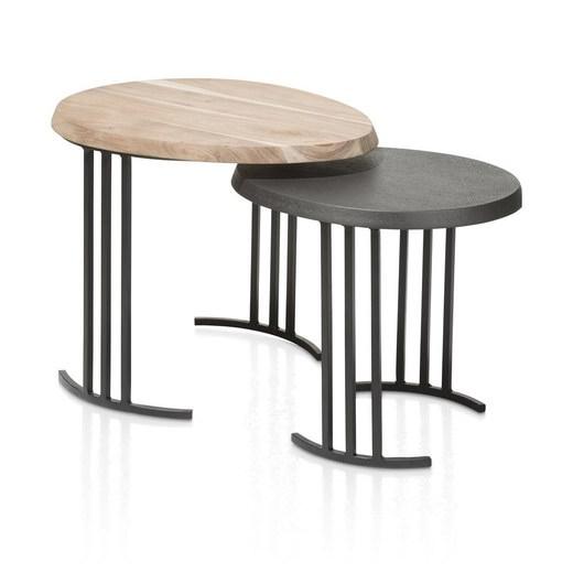 bijzettafel lanai in multikleur nu bestellen in de coco. Black Bedroom Furniture Sets. Home Design Ideas