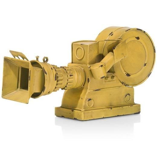 Object record in geel nu bestellen in de coco maison webshop - Eigentijds object ...