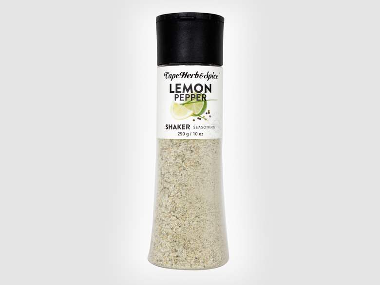 Lemon &  Black Pepper Shaker