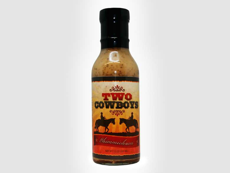 Two Cowboys Chimmichurri Sauce 350ml