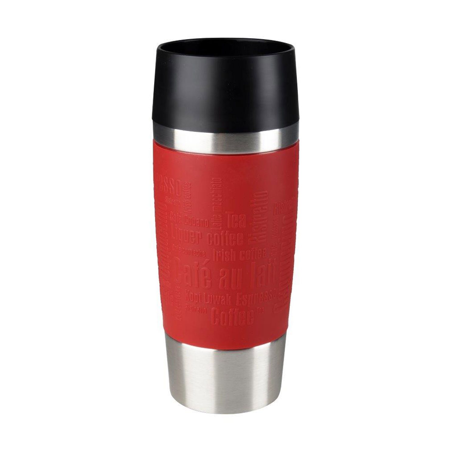 emsa thermobecher travel mug 0 36l in rot bei kodi kaufen. Black Bedroom Furniture Sets. Home Design Ideas