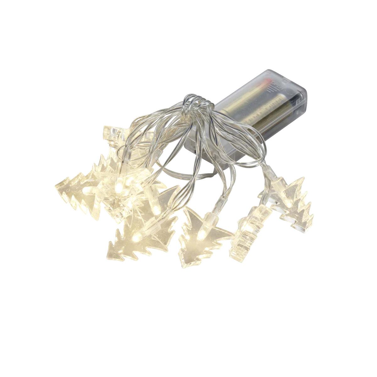 Tannenbaum Kunststoff.Led Lichterkette Tannenbaum Kunststoff Mit 10 Warmweissen Led