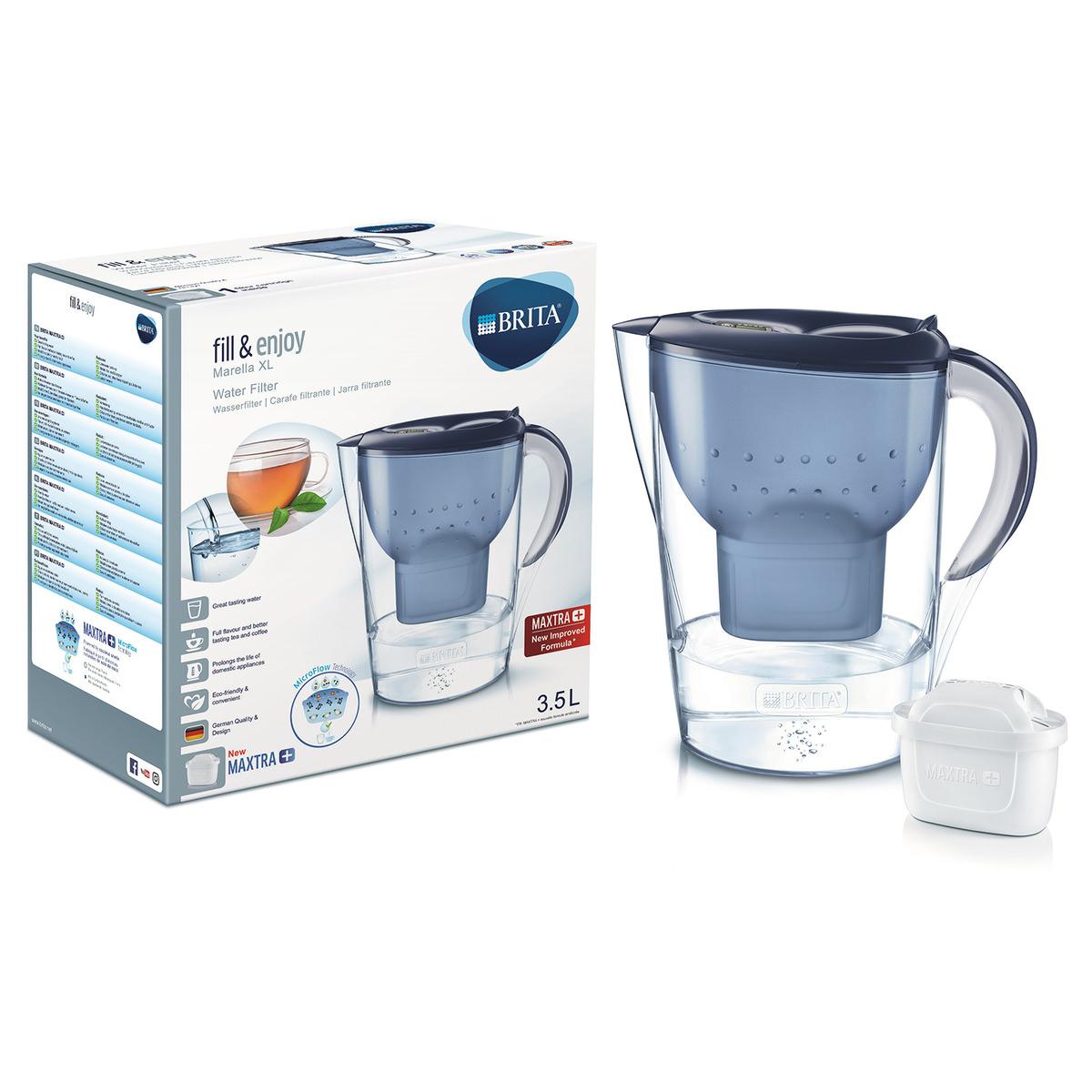 Brita Wasserfilter Marella Xl 35 Liter In Blau Jetzt Im Kodi