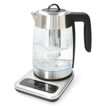 KODi Selection Wasserkocher Glas digital mit Teesieb und LED  WK 202 1,8 Liter