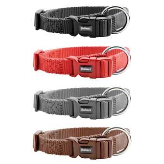 Bubimex Hundehalsband Classic Nylon S-M in verschiedenen Farben