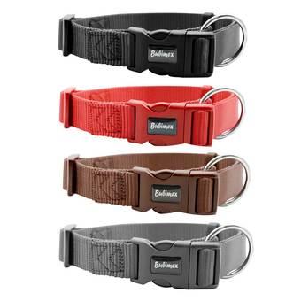 Bubimex Hundehalsband Classic Nylon L-XL in verschiedenen Farben