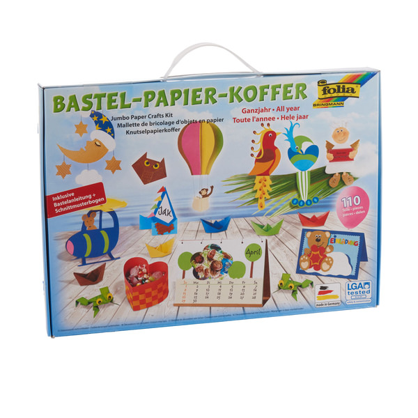 folia Bastelpapier-Koffer