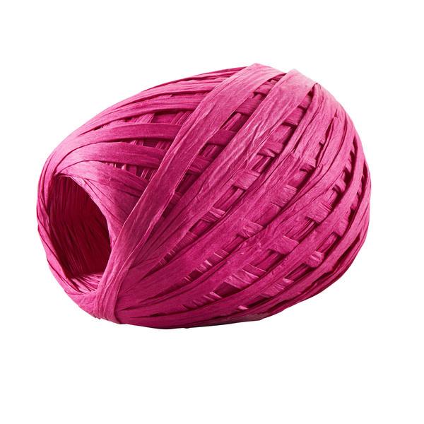 """Geschenkband """"Raffia"""" in Pink"""