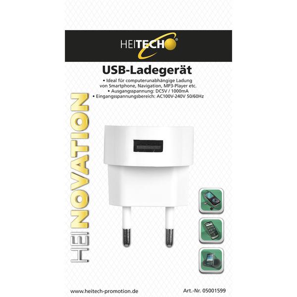 Heitech USB-Ladegerät