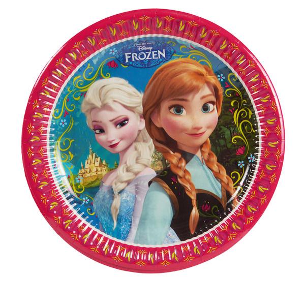 "Pappteller ""Disney Frozen Alpine"""