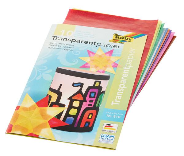 folia Transparentpapier