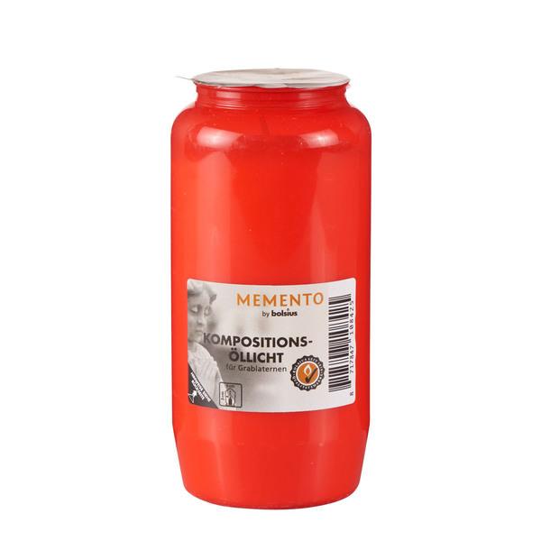 Bolsius Öllicht Nr. 7 in Rot
