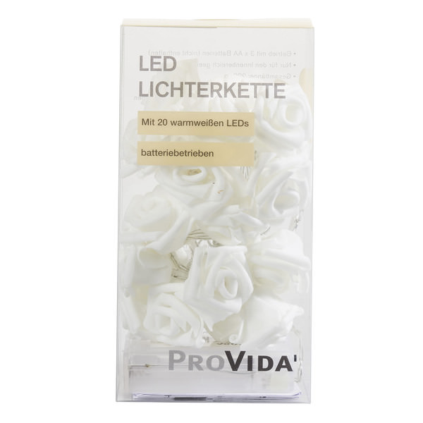 Provida LED-Rosenlichterkette