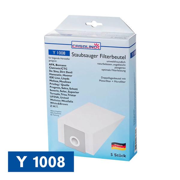 Casalino Staubsauger Filterbeutel Y 1008