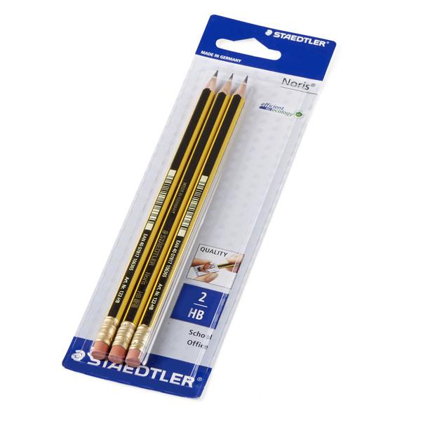 Staedtler zeigt Ideen! STAEDTLER Bleistifte mit Radiertip